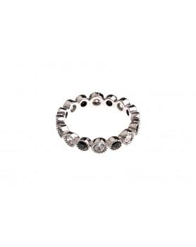 (IS94) Vuorikristalli sormus