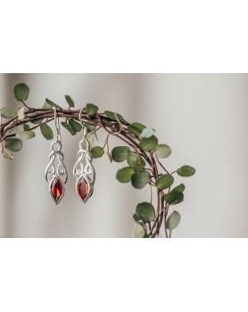 Sirona korvakorut (punainen)